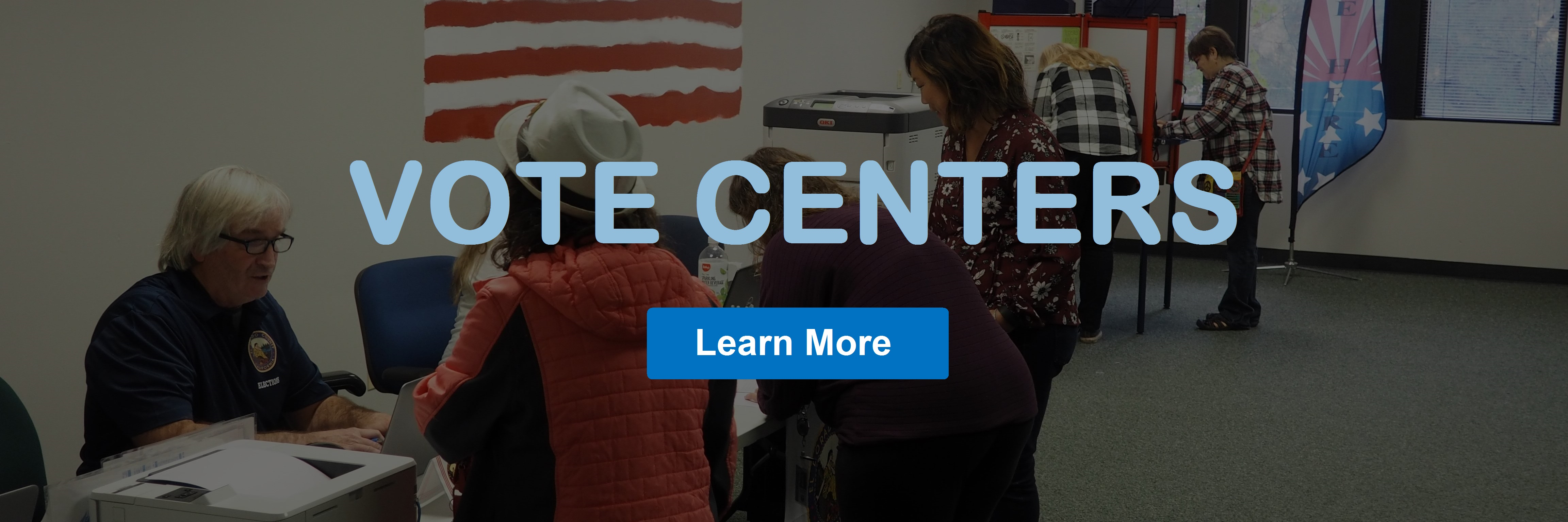 Vote Centers Learn More